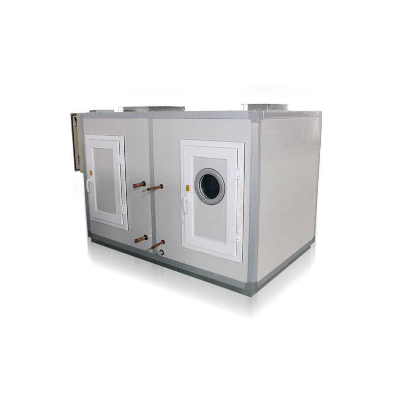 Straight expansion air purification unit