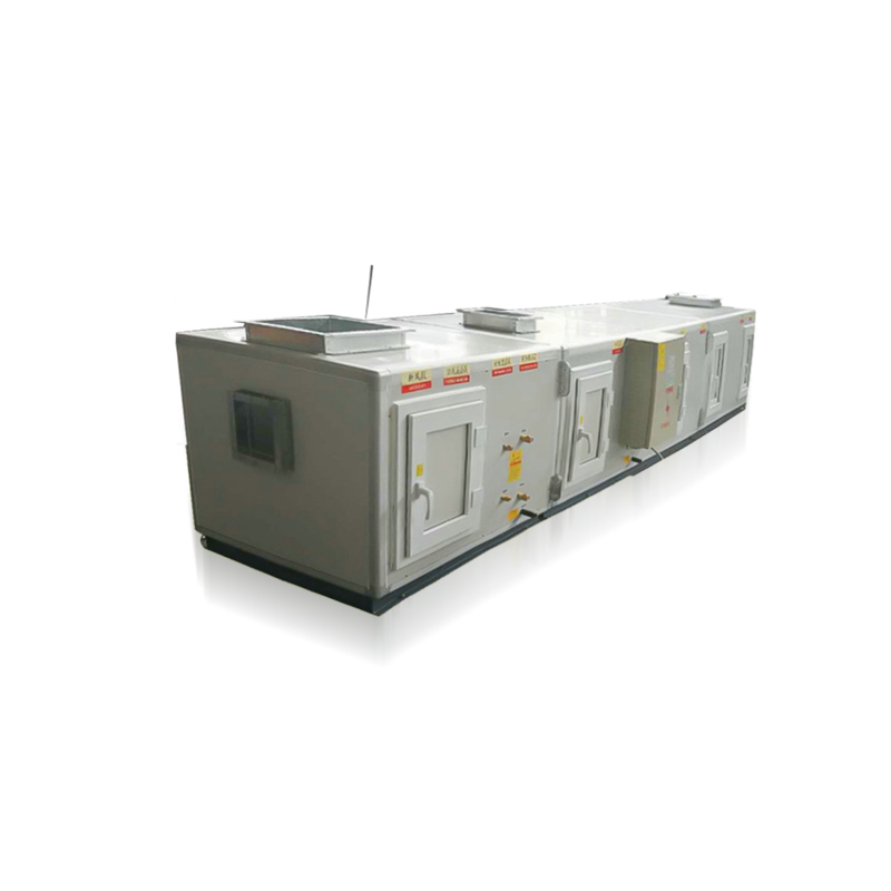 Direct expansion box type purification air conditioning unit